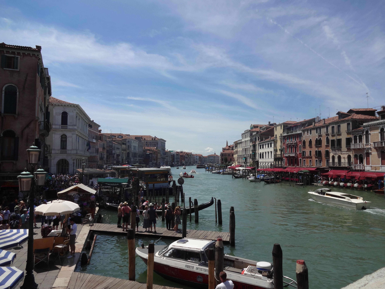 Ponte di Rialto in Venice, Veneto