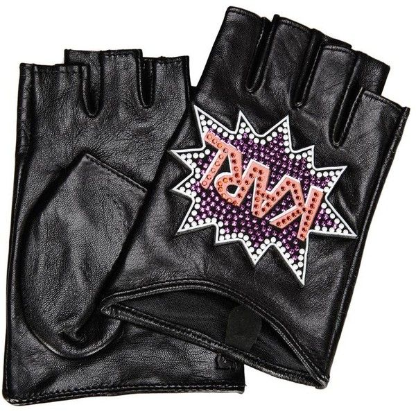 Karl Lagerfeld K/Pop Gloves (1.725 ARS) ❤ liked on Polyvore featuring accessories, gloves, black, karl lagerfeld gloves, rhinestone gloves, karl lagerfeld, fingerless gloves and rhinestone fingerless gloves