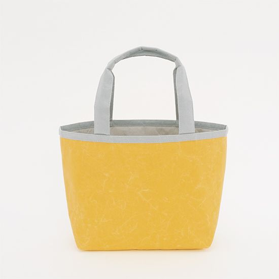 Lunch bag (limited bi-colour) - all made from Japanese WASHI paper - light yet strong - highly water-resistant and not easily torn.