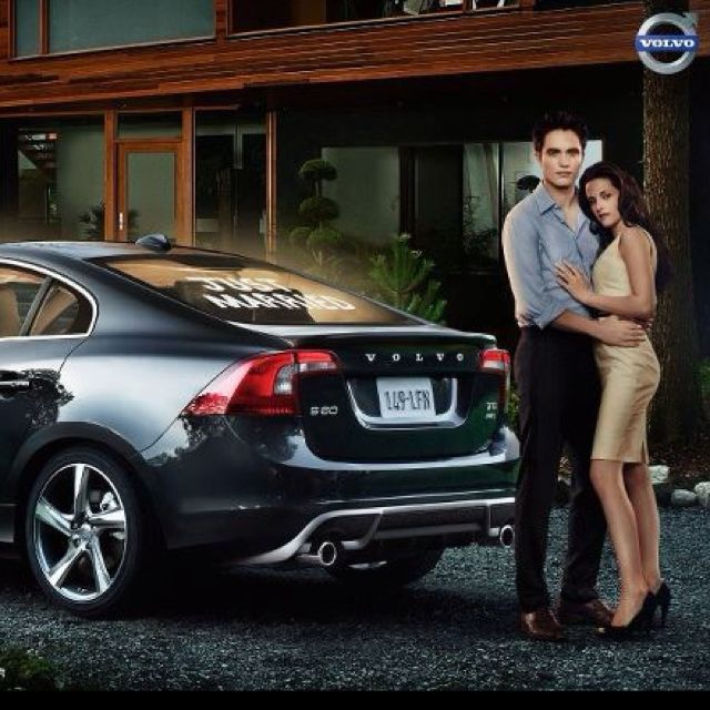 just married. volvo. | twilight forever | pinterest | volvo