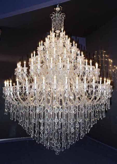 130 Light Bohemian Crystal Chandelier Crystal Chandelier