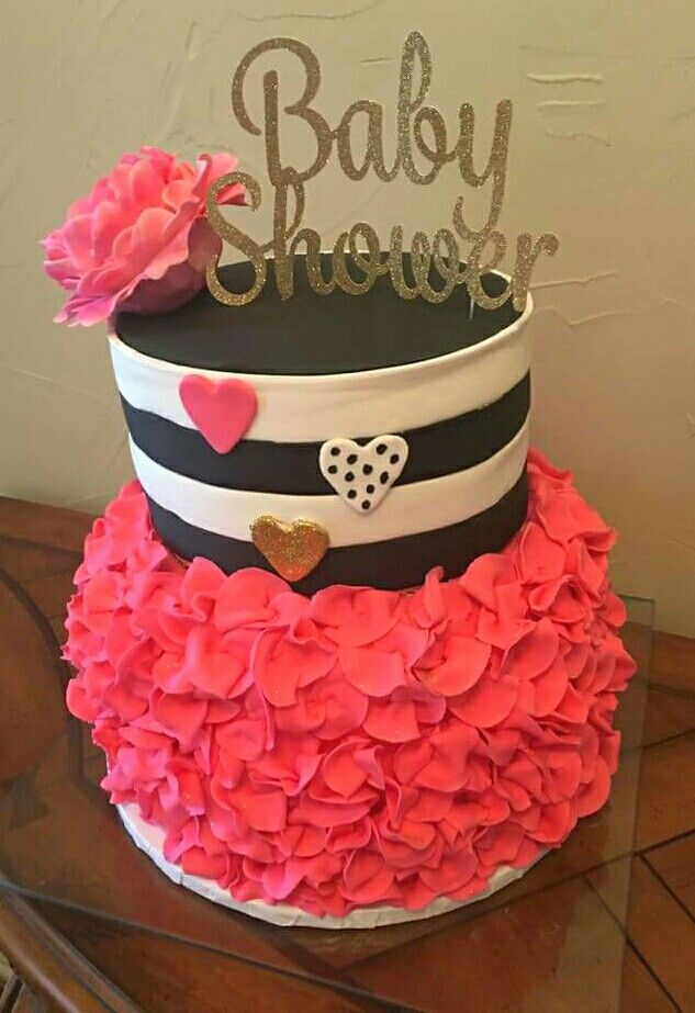 Kate Spade Cake Pink Black White And Gold Kate Spade Baby