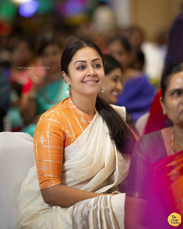 Whether she is on screen or off it, Jyothika's elegance ...