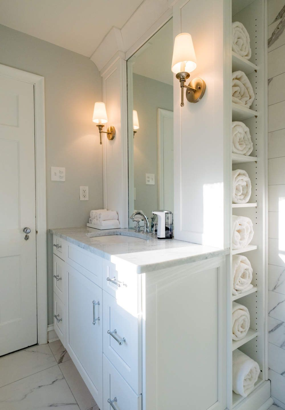 Transitional Bathroom Remodel Richmond, VA | Bathroom Tile ... on bathroom remodel indianapolis, bathroom remodel toledo, bathroom remodel pittsburgh, bathroom remodel orlando, bathroom remodel sacramento, bathroom remodel denver,