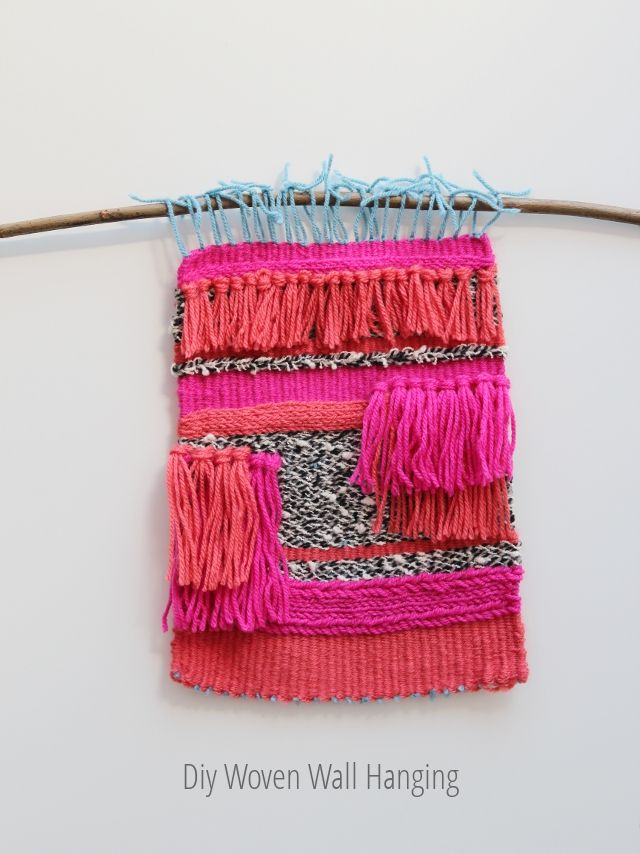 Things I've Made From Things I've Pinned: Diy Woven Wall Hanging | Gathering Beauty