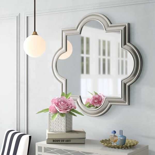 Daisi Arch Crowned Champagne Top Wall Accent Mirror