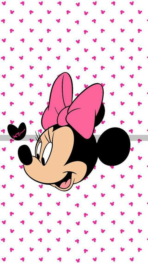 Image Via We Heart It Weheartit Entry 152714429 Minniemouse Wallpaper Fondo