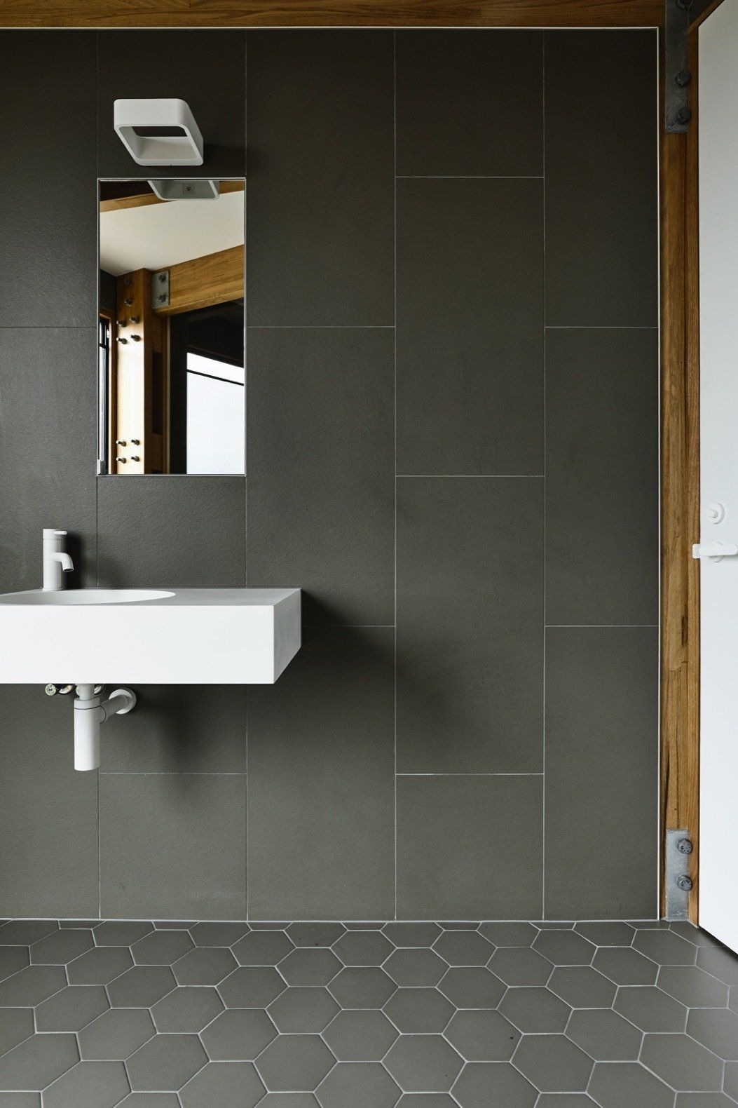 Photo 15 Of 19 In A Circular Beach House In Australia Embraces Amazing Bathrooms Trendy Bathroom Best Bathroom Tiles
