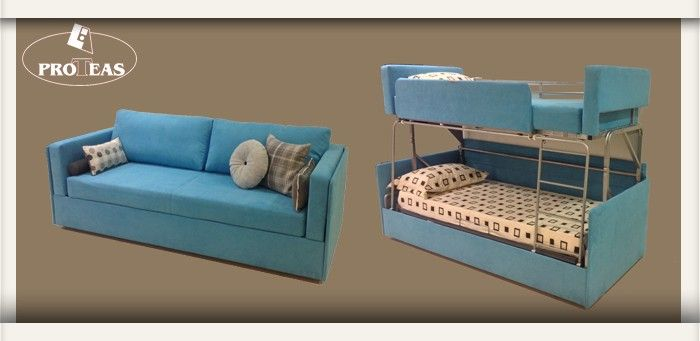 Groovy Twinny Is The New Coupe Sofa To Bunk Bed Home Decor Creativecarmelina Interior Chair Design Creativecarmelinacom