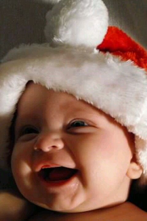 Happy ~~ Santa, you sure have a funny laugh! I can see