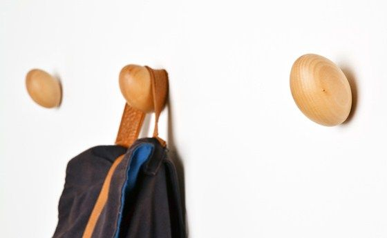 Fun Coat Hooks In The Shape Of An Egg Won T Damage Clothes As
