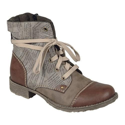 Women's Rieker Antistress Payton 22 Lace Up Boot Brandy