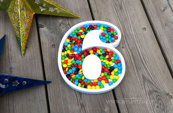 Candy Dishes Letter Or Number Birthdays Letter Dishes Dish