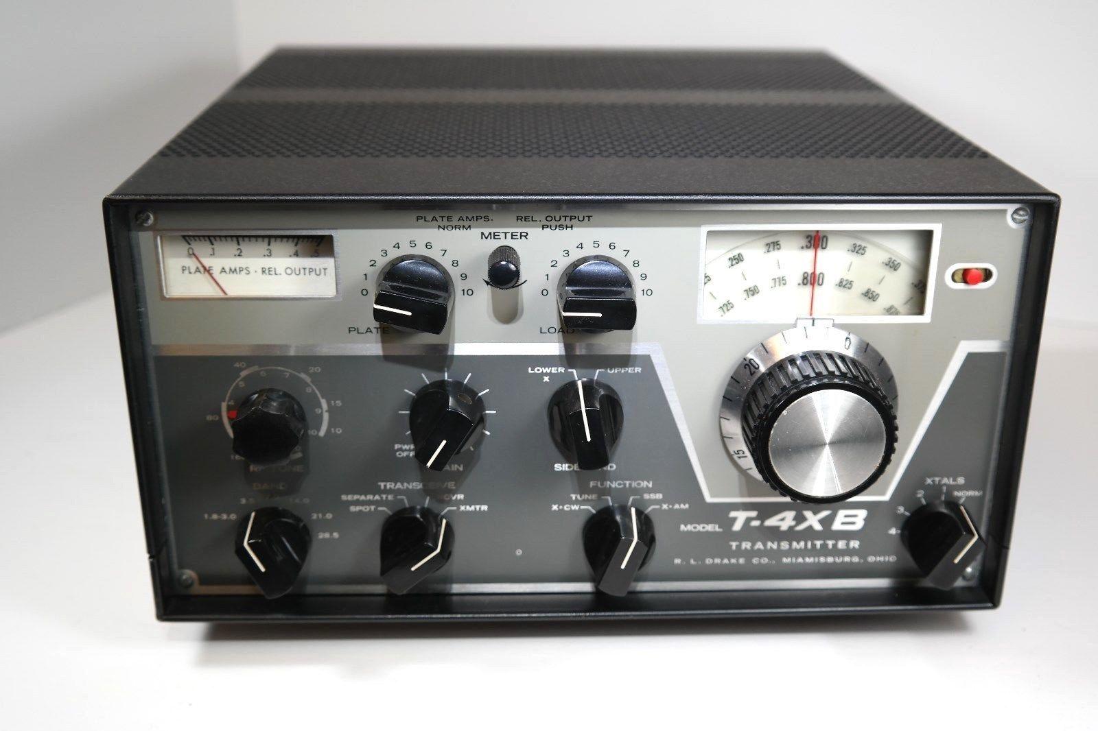 Collector Quality Gorgeous Drake T 4xb Hf Transmitter Refurbed By Drake Ebay Ham Radio Ham Radio Equipment Radio