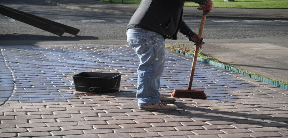 How to look after pattern imprinted concrete Imprinted