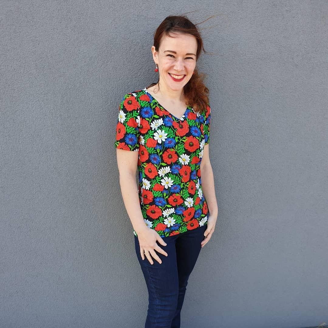 Mon Tee Shirt Briac Un Patron De Couture Facile Pour Debuter La Couture Du Jersey In 2020