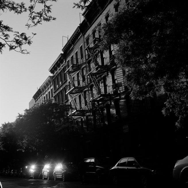 Straße in Hell's Kitchen, New York City