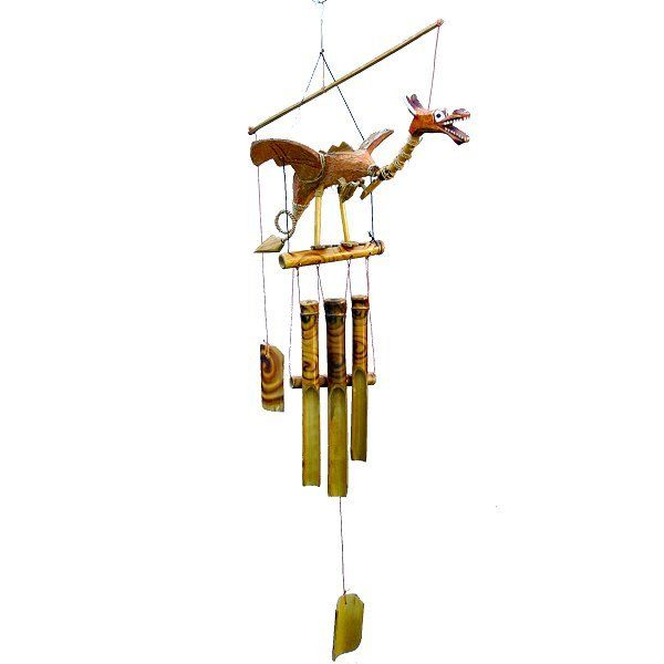 Wind Chimes Dragon Bamboo Wind Chimes Fair Trade Wind Chime Bamboo Wind Chimes Wind Chimes Chimes