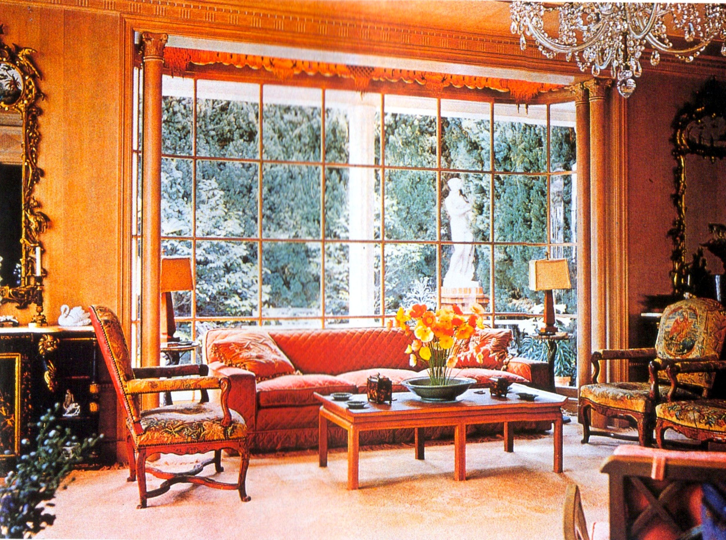 william haines interiors  cukor estate   Vintage Los Angeles     william haines interiors  cukor estate