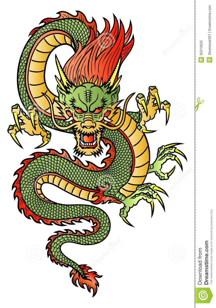 Chinese Dragon Royalty Free Stock Photo  Image 35210625