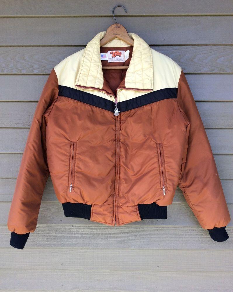 Vintage 1970s 70s Sailboat Jacket Coat