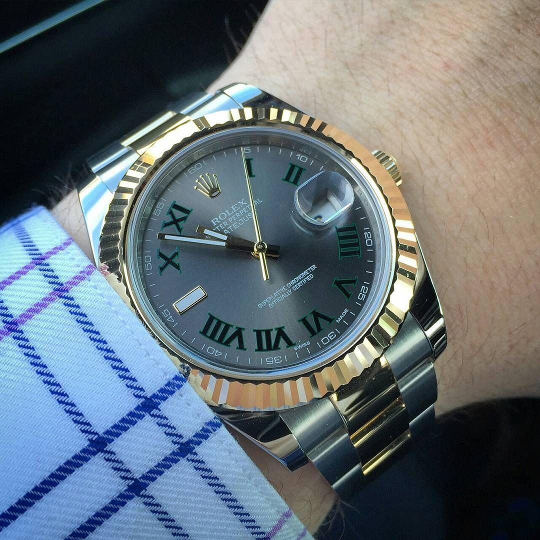 cf8d65b2d60 Rolex DateJust II Ref. 116333   #WRISTPORN by @TheWristWatcher_    www.wristporn.com