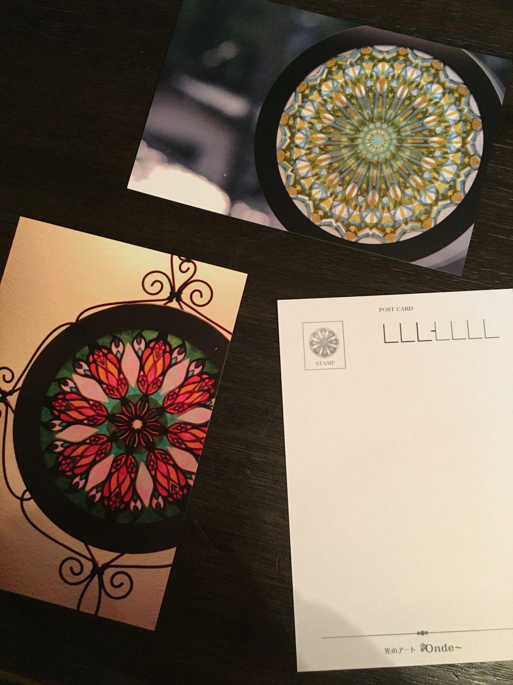 光のアートOnde〜 RoseWindows ローズウィンドウ (紙のステンドグラス ...