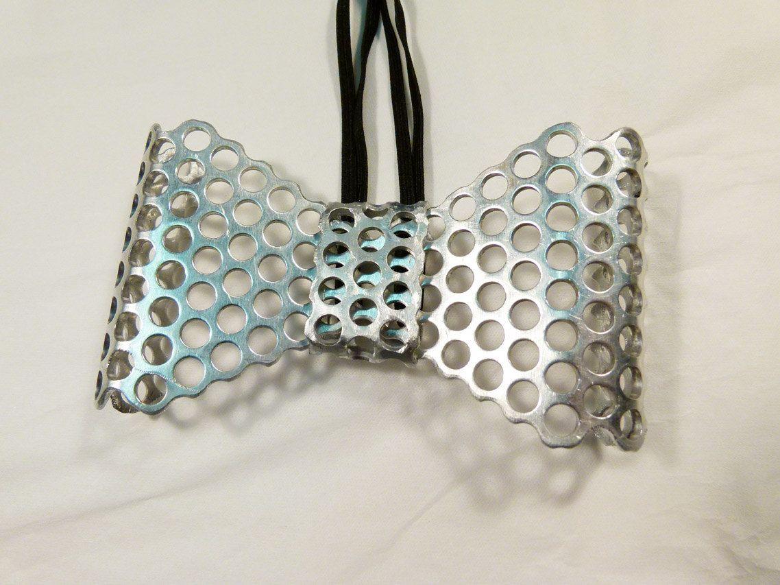 Metal Bowtie Neck Bow Bows Metal