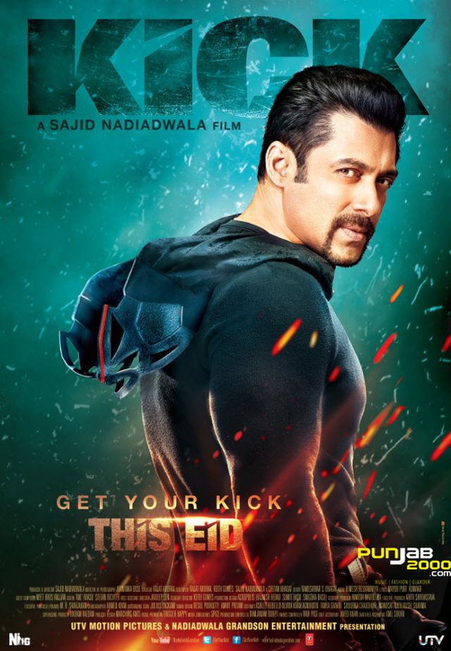 Bollywood superstar Salman Khan is set to kick-start this Eid season with the forthcoming action romantic-comedy film 'Kick', releasing on 25th July 2014 through UTV Motion Pictures. Billed as an awesome, roller-coaster ride of action, intrigue, suspense and romance..