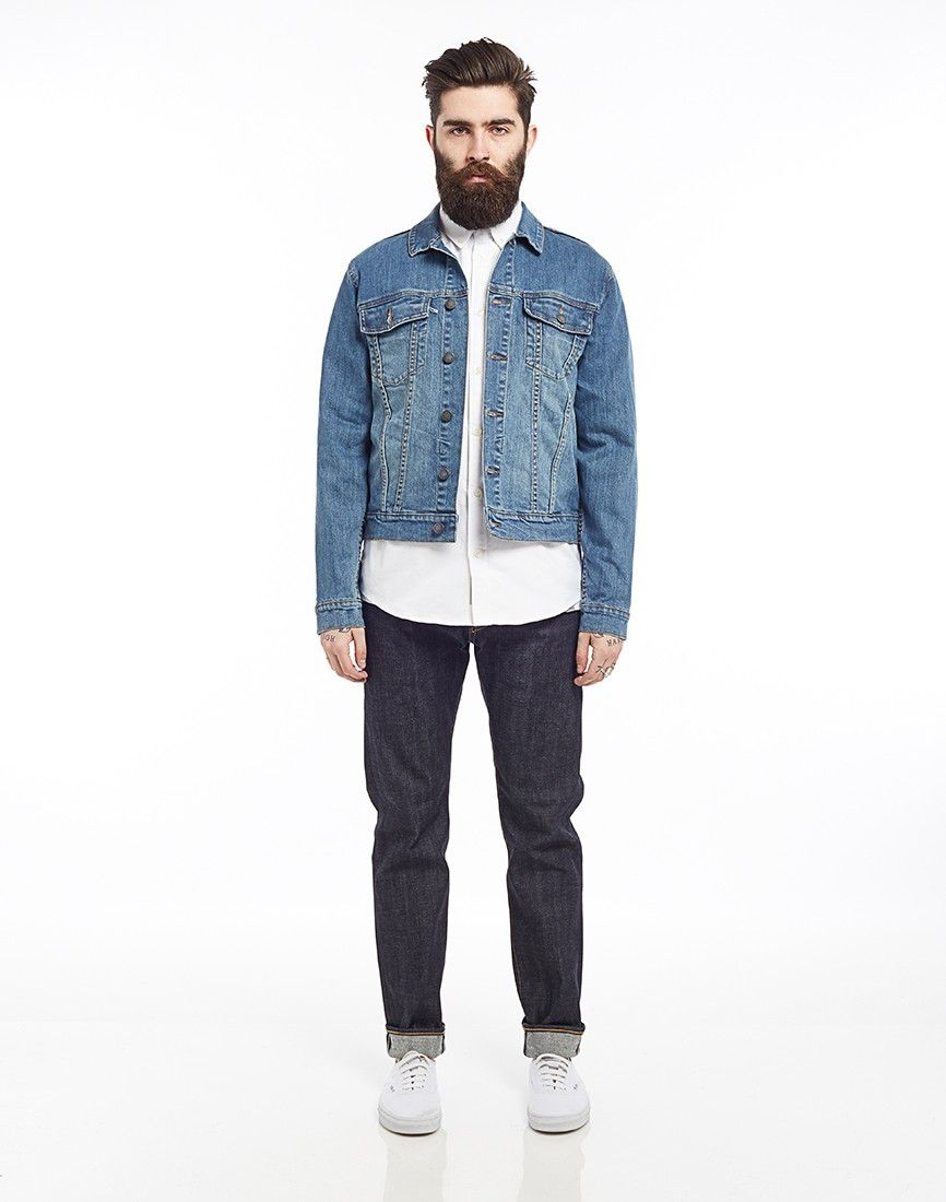 Cheap Monday Staple Denim Jacket - Men's Clothing at The Idle Man ...