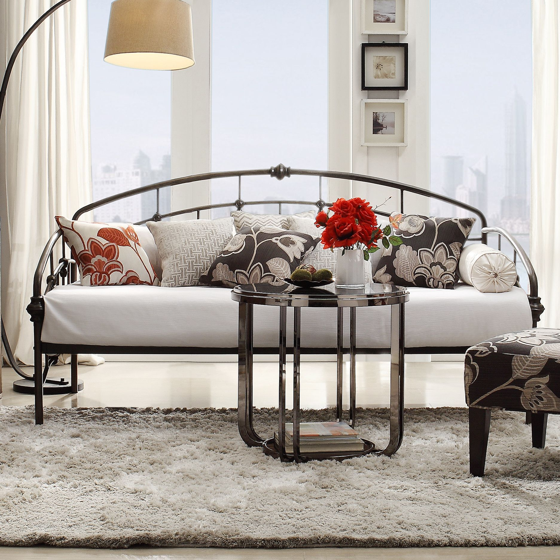 The Wayfair Daybed Of Today Comfortable And Beautiful In 2020 Country House Decor Home Decor Small Guest Bedroom