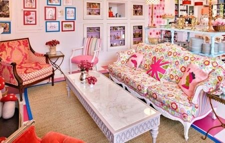 Chuck out that Chintz? NEVER! | The World of Pink | Pinterest | Sofa ...