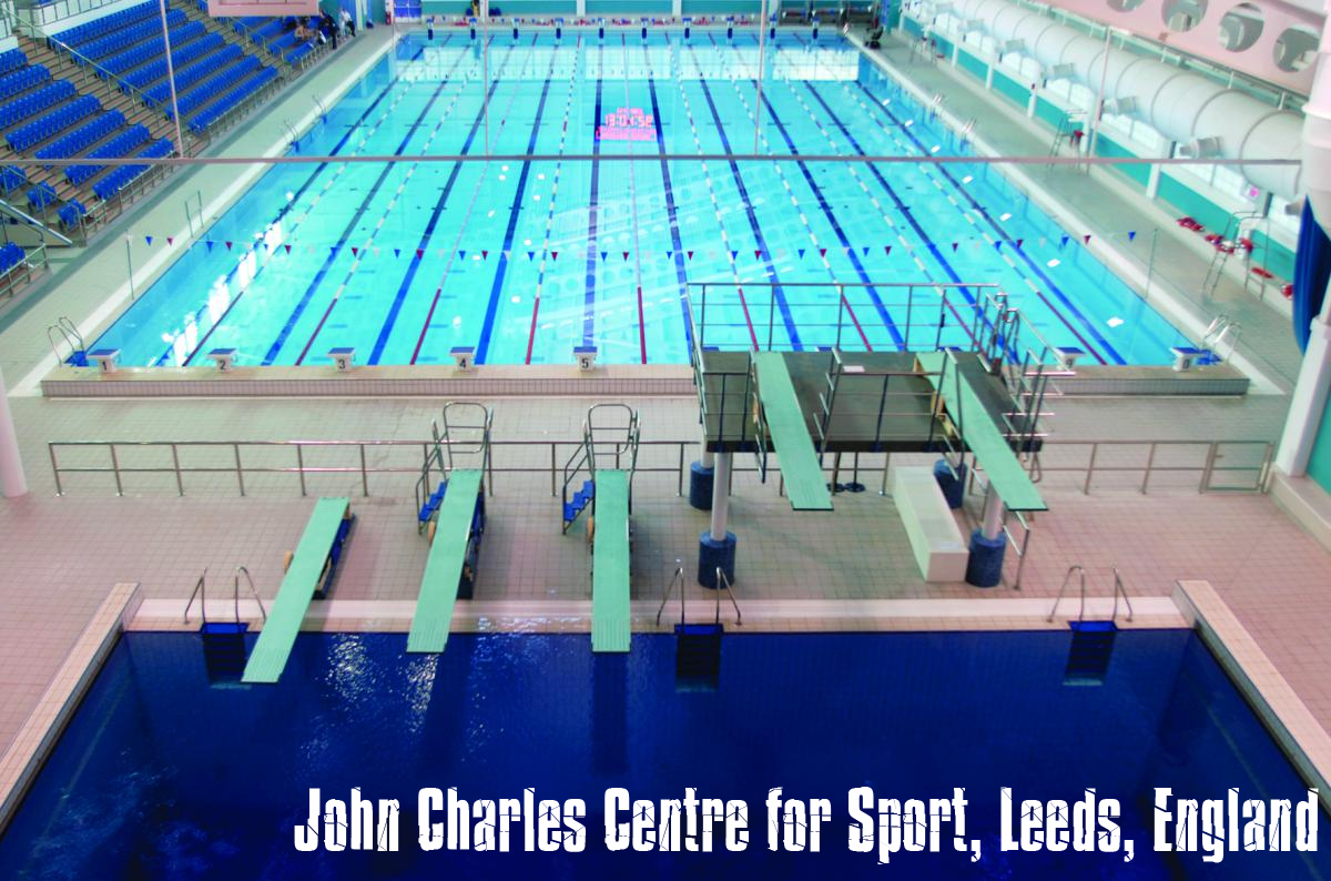 John Charles Centre For Sport Leeds England Swimming Destinations Pinterest England