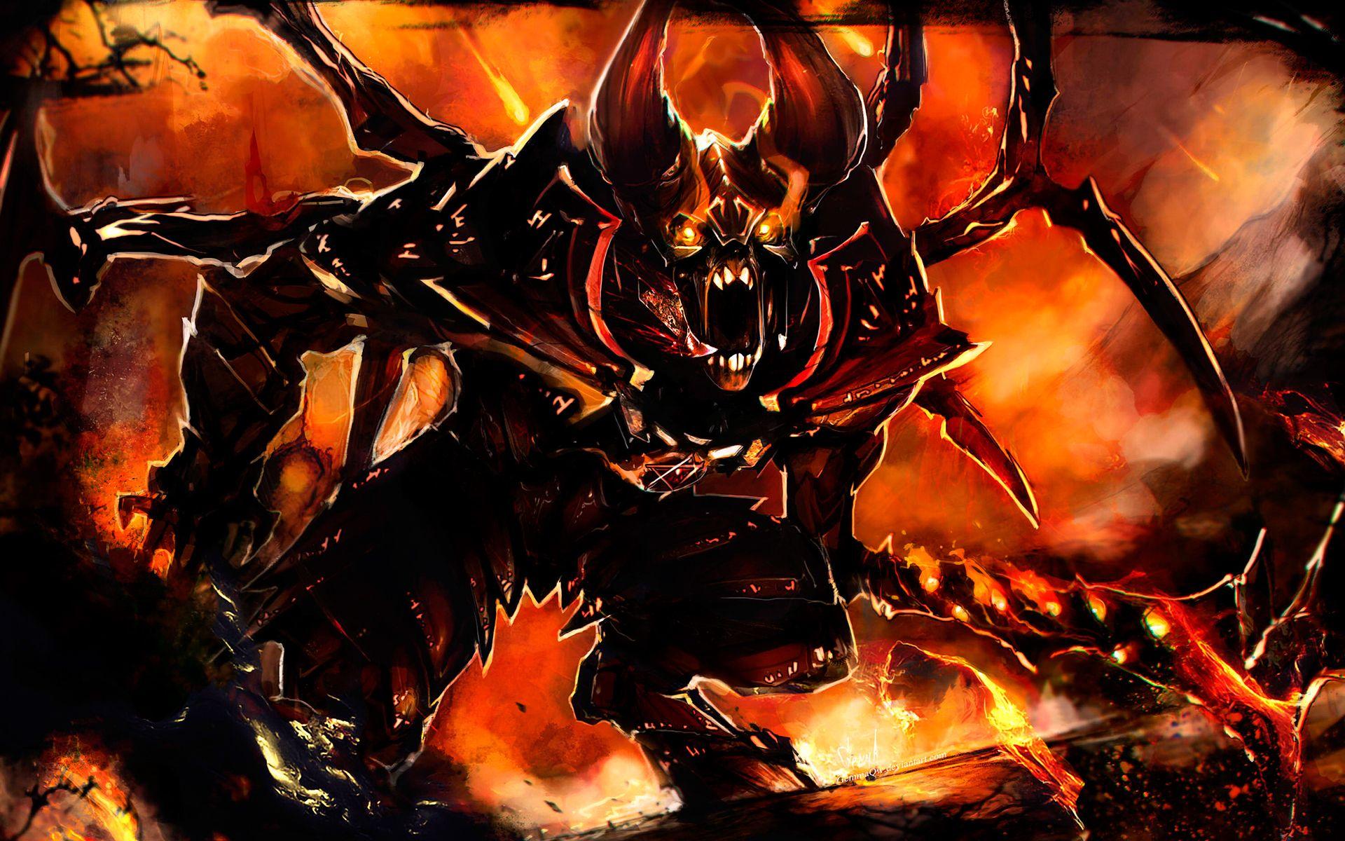 angry doom wallpaper more http dota2walls com doom angry doom