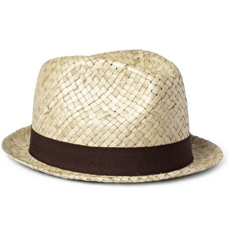 339b6126 PAUL SMITH SHOES & ACCESSORIES EMBELLISHED STRAW TRILBY HAT | A Tip ...