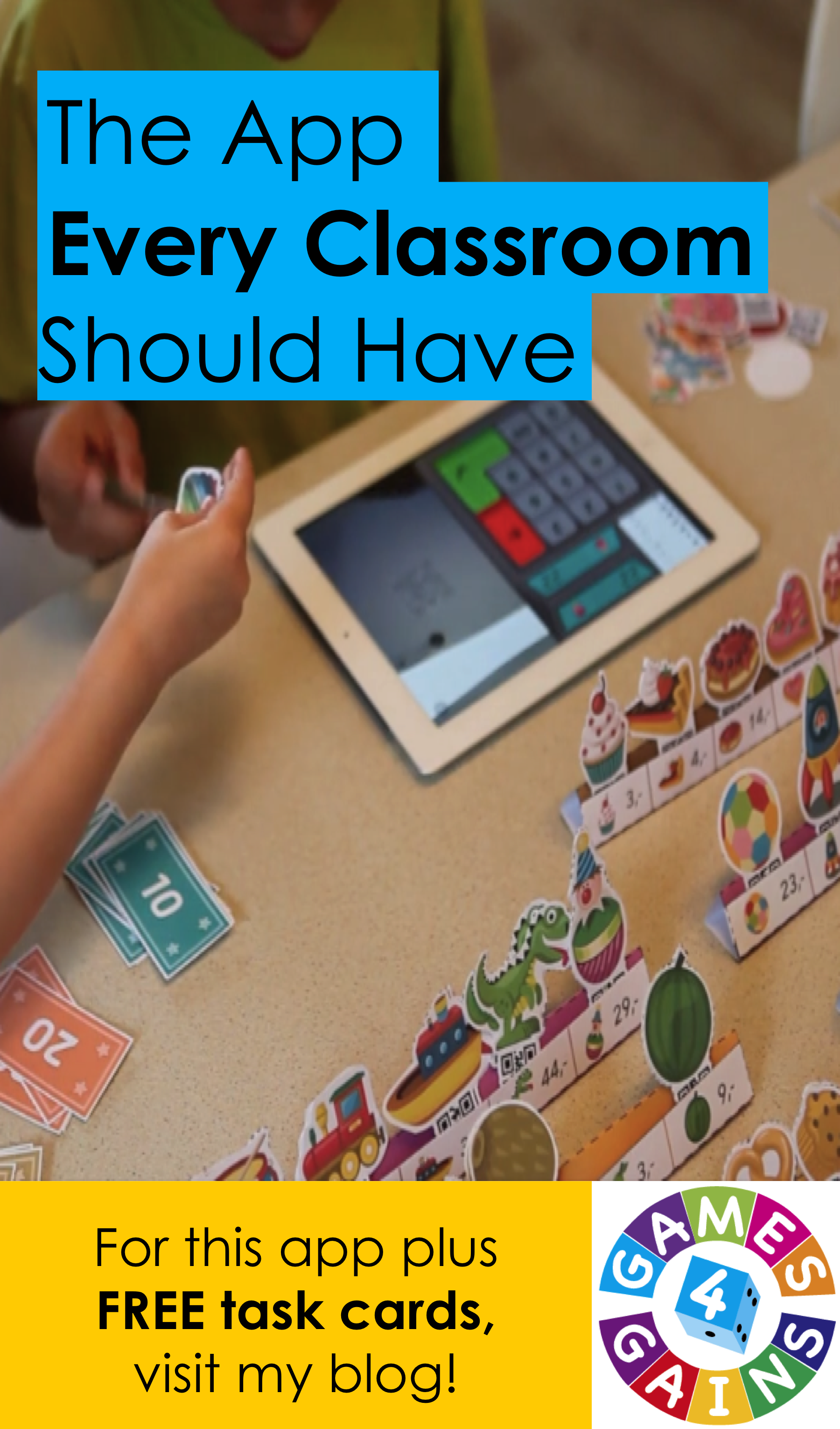 Classroom Interactive Ideas ~ The app every classroom should have free task cards