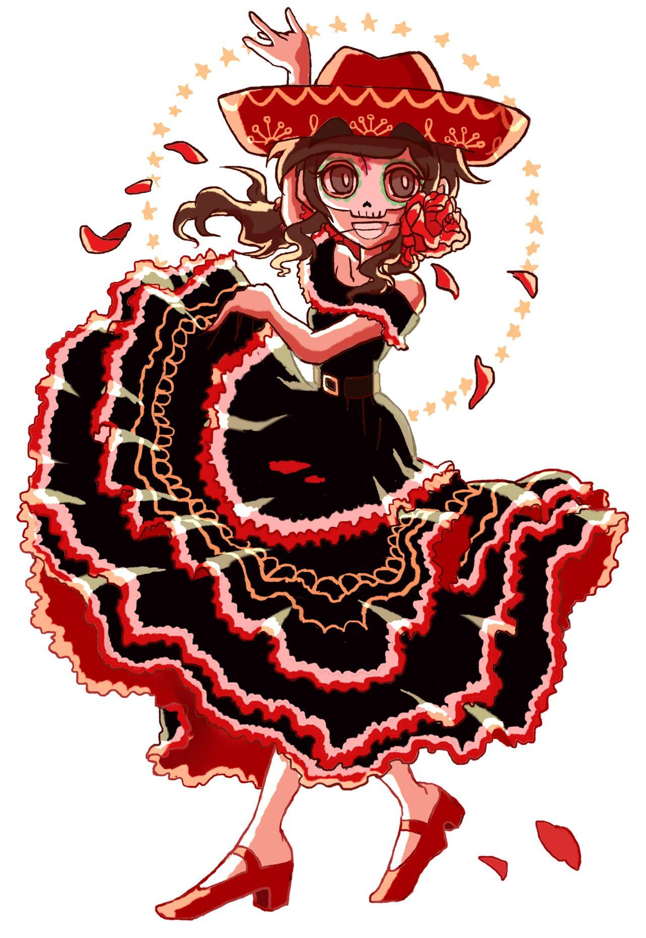 Genderbend stuff. Marcia dancing flamenco :D''