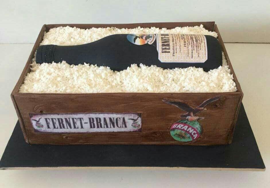 Torta cajón de fernet branca