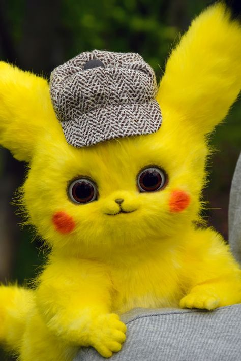 Animals Discover Pikachu Detective Pokemon toy by ...