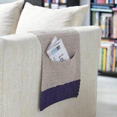 un prot ge accoudoir pour fauteuil ou canap crochet couture tricot c needlework. Black Bedroom Furniture Sets. Home Design Ideas