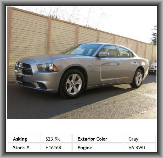 2013 Dodge Charger Se Sedan Fuel Capacity 19 1 Gal Body Colored Bumpers Wheelbase 120 2 Inde 2013 Dodge Charger Illuminated Vanity Mirrors Dodge Charger