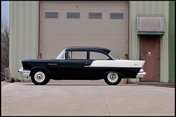 1957 Chevrolet 150 Sedan 350 Fi Ramjet Smallblock V8 4 Speed 3 50