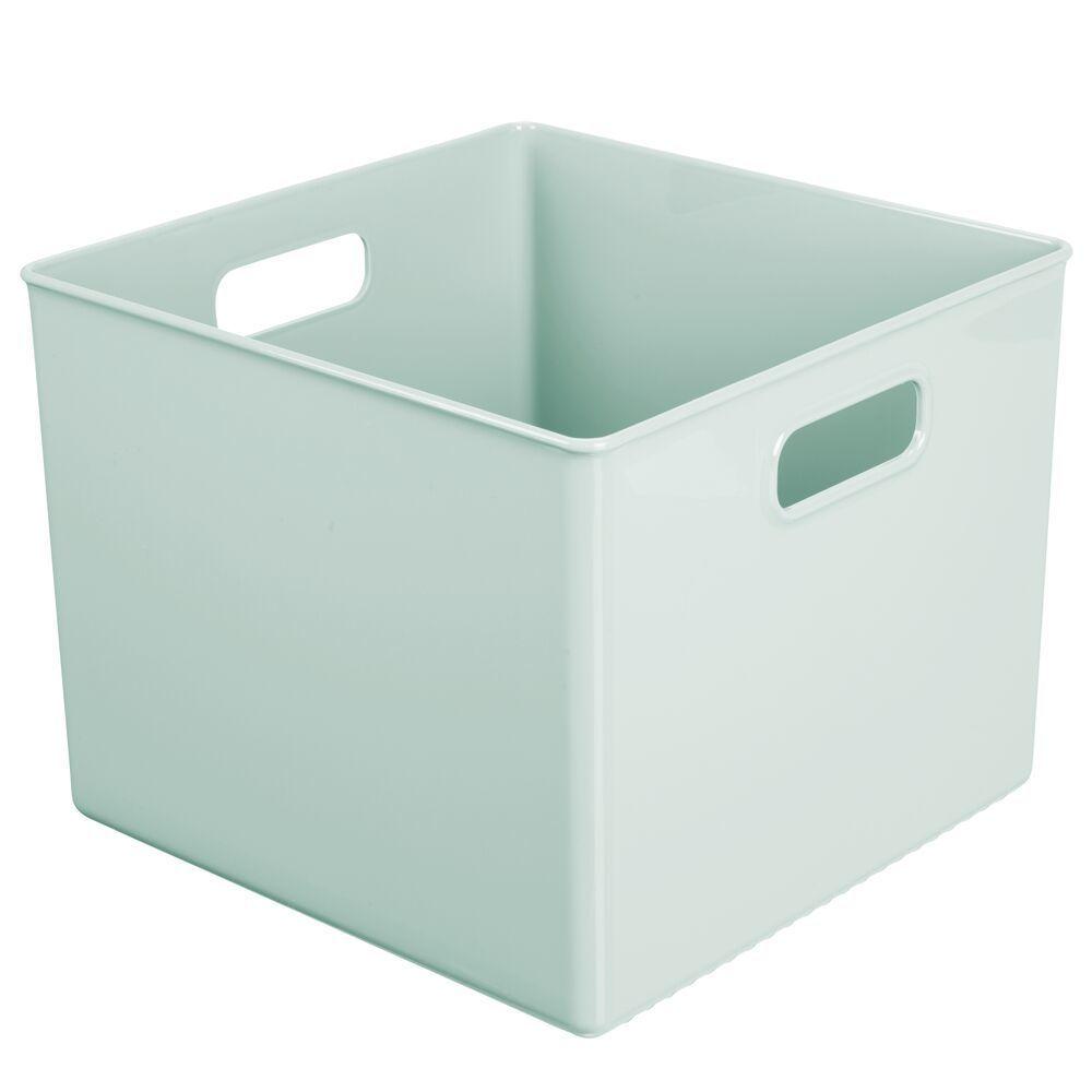 Plastic Home Storage Bin for Furniture Storage in Mint, 10
