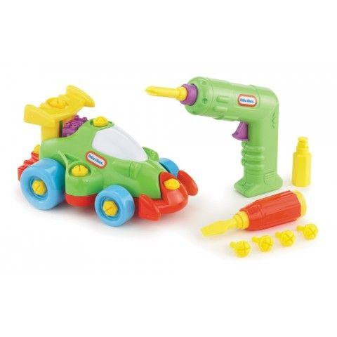Little Tikes Little Builder Race Car