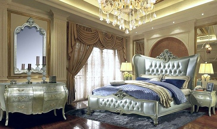 Crafted Antiquity of Old World Bedroom Furniture , Old world bedroom ...