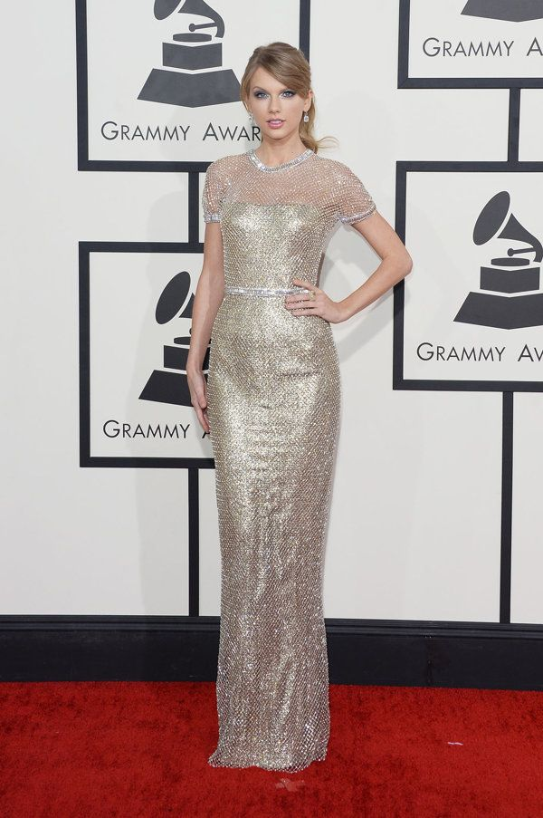 Taylor Swift | Grammy Awards 2014 Red Carpet Arrivals - Yahoo OMG! Philippines