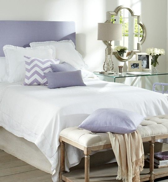 lavender bedroom placement of mirror for the home