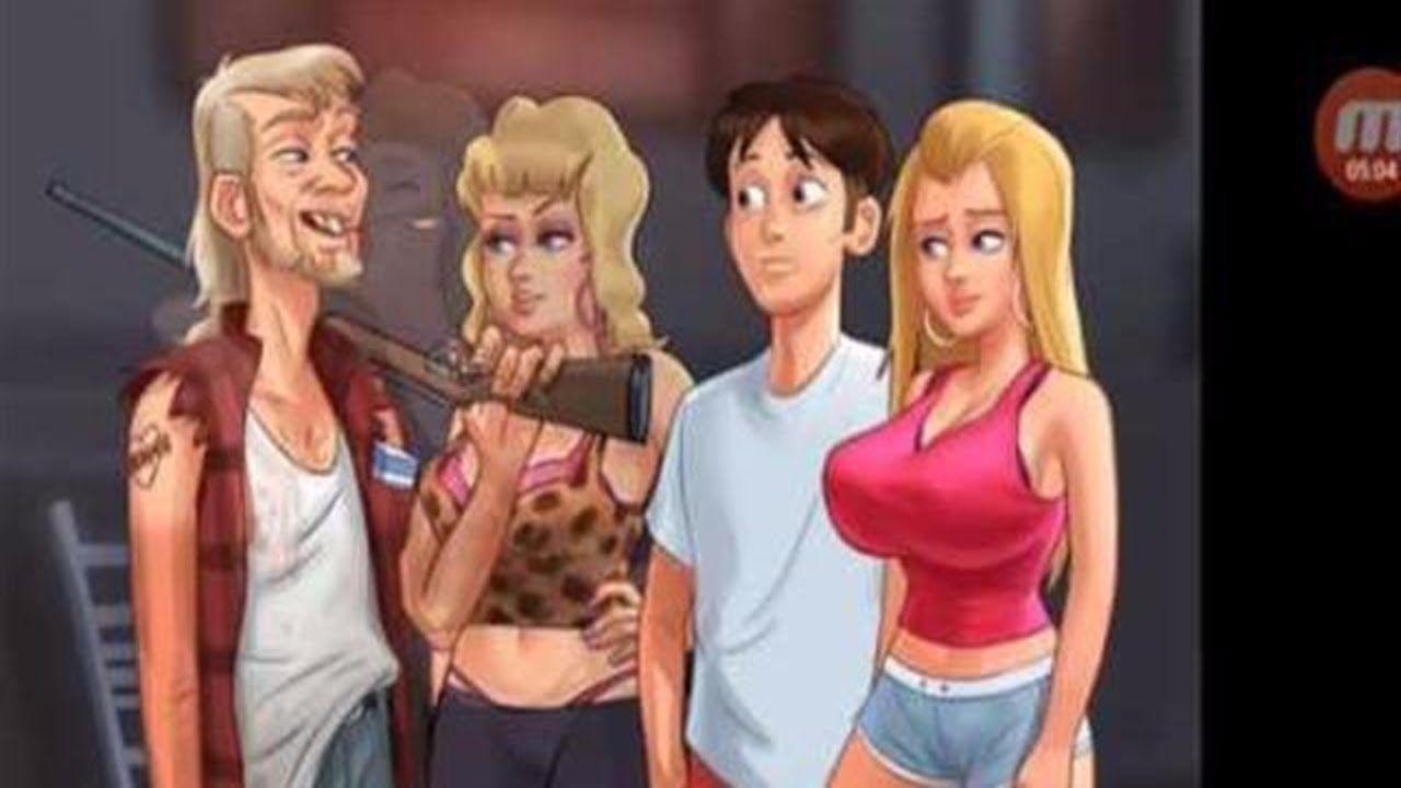 Adult Games Summertime Saga how to unlock new location trailer in summertime saga game