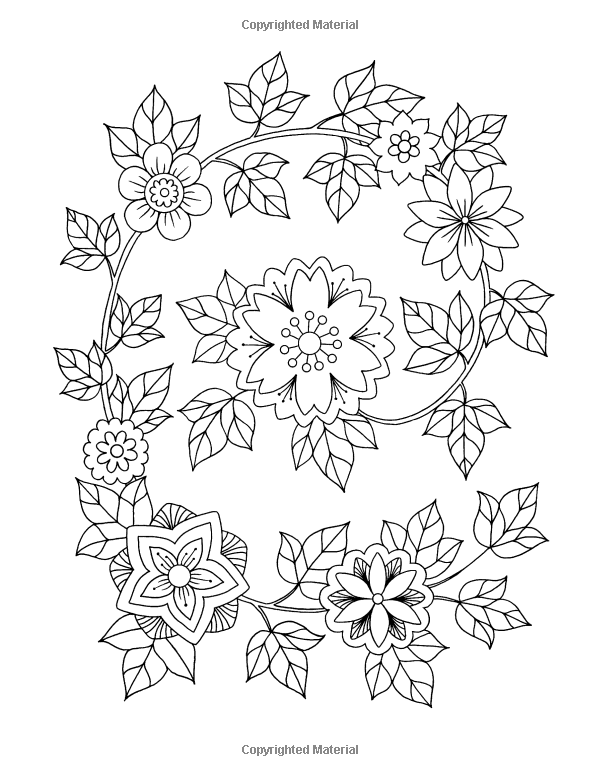 Amazon Com Happy Coloring Easy Flowers Coloring Book For Adults 9781518817557 Happy Coloring Stefania Mir Graph Paper Art Coloring Books Coloring Pages