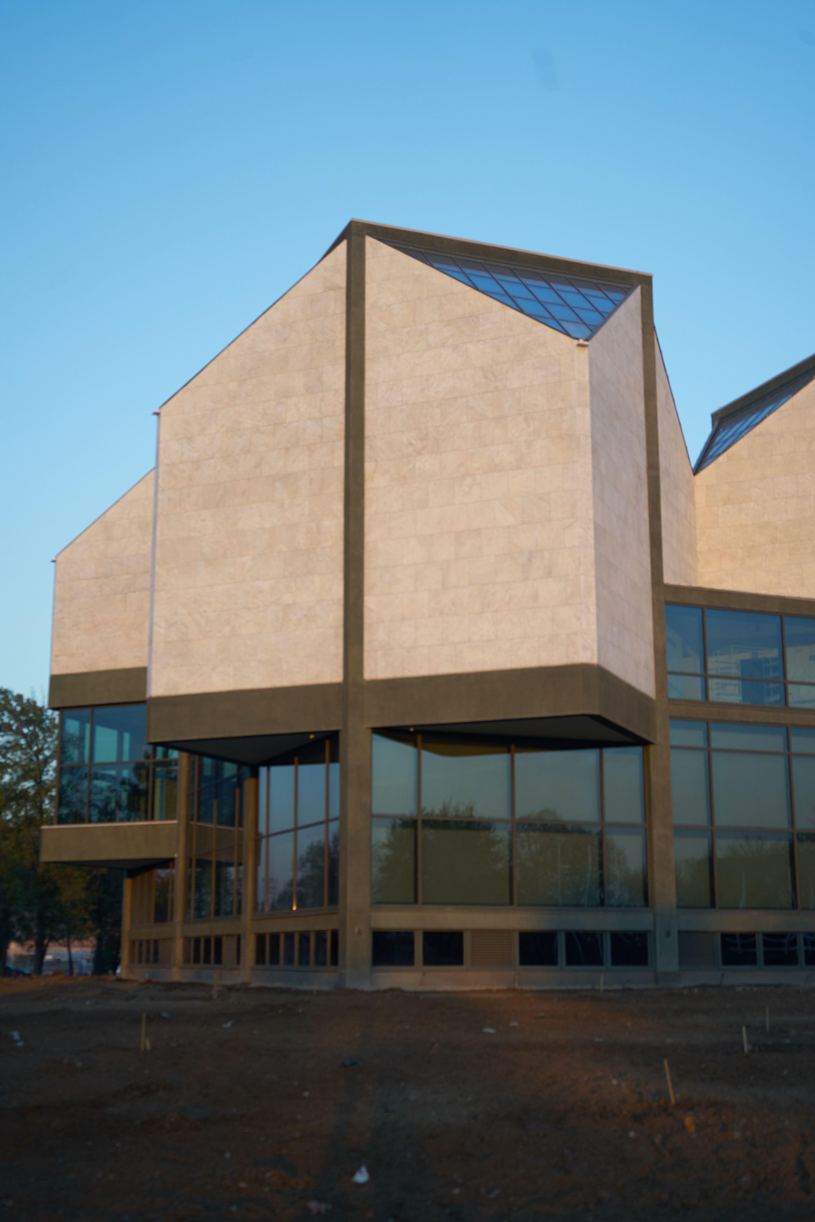 Die herausgedrehten Kuben, Museum für zeitgenössische Kunst, gebaut ...